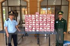 Kon Tum: Thu giữ nhiều pháo nổ khu vực Cửa khẩu quốc tế Bờ Y