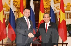 Đưa hợp tác Việt-Nga ngày càng đi vào chiều sâu và thực chất