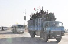 Syria tiếp tục đưa quân đội tới tỉnh Hasaka, xe quân sự Mỹ quay lại