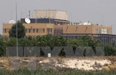 Tên lửa rơi gần Đại sứ quán Mỹ tại thủ đô Baghdad của Iraq