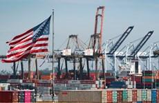Thâm hụt thương mại của Mỹ giảm mạnh nhất trong 8 tháng