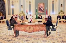 Chính phủ Yemen, Hội đồng Chuyển tiếp miền Nam ký chia sẻ quyền lực