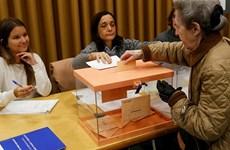 Cử tri Tây Ban Nha bắt đầu bỏ phiếu tổng tuyển cử thứ hai trong năm
