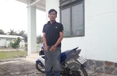 Bắt giữ đối tượng trộm xe môtô chuẩn bị mang qua biên giới tiêu thụ
