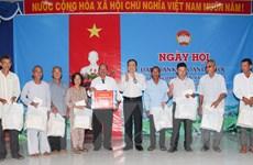 Chủ tịch MTTQ Việt Nam dự Ngày hội Đại đoàn kết tại Hậu Giang