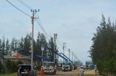 EVN sẽ cơ bản khôi phục cấp điện do ảnh hưởng bão số 6
