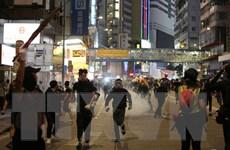 Cảnh sát Hong Kong bắt giữ hơn 80 đối tượng biểu tình phá hoại
