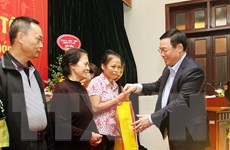 Lãnh đạo Đảng, Nhà nước dự ngày hội đại đoàn kết tại phường Quán Thánh