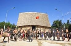 Gia Lai phục dựng nghi lễ lên nhà Rông mới của đồng bào Bahnar