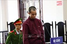 Hòa Bình: Tuyên phạt 30 năm tù đối tượng hiếp dâm trẻ em và giết người