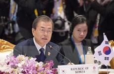 Tổng thống Hàn Quốc ca ngợi vai trò ASEAN trong kiến tạo hòa bình