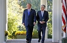 Tổng thống Mỹ Trump đánh giá cao cuộc gặp với Chủ tịch Fed