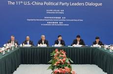 Đối thoại lãnh đạo các đảng phái chính trị Mỹ-Trung lần thứ 11