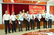 Đồng Nai bổ nhiệm Trưởng ban Nội chính Tỉnh ủy mới