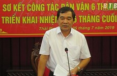 Trao quyết định của Ban Bí thư chuẩn y Phó Bí thư Tỉnh ủy Thái Bình