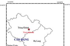 Cao Bằng: Khẩn trương khắc phục hậu quả rung lắc do động đất