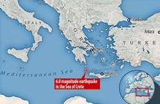 Động đất lớn ngoài khơi Hy Lạp: Chưa có thông tin thương vong