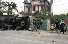 Hai lái xe thương vong trong vụ va chạm xe tải tại Nam Định
