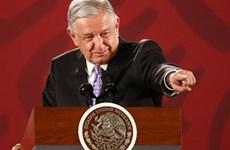 Tổng thống Mexico thừa nhận kinh tế tăng trưởng không đạt kỳ vọng