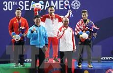 SEA Games 30: Lực sỹ Thạch Kim Tuấn để tuột huy chương vàng