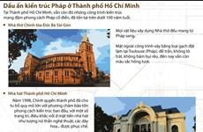 [Infographics] Dấu ấn kiến trúc Pháp ở Thành phố Hồ Chí Minh