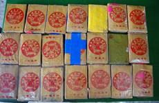 Thừa Thiên-Huế: Tiếp tục phát hiện 21 bánh nghi là ma túy ở bãi biển