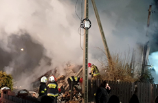 Ba Lan: Nổ gas gây sập tòa nhà 3 tầng, chưa rõ thương vong