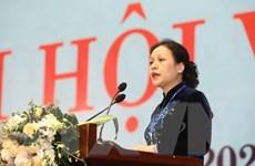 Bà Nguyễn Phương Nga tiếp tục làm Chủ tịch LH các tổ chức hữu nghị