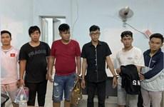 Bắt giữ nhóm đối tượng giả danh Cảnh sát hình sự để cướp tài sản