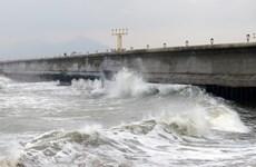 Phú Yên: Tàu cá của ngư dân bị sóng đánh chìm, 2 người mất tích