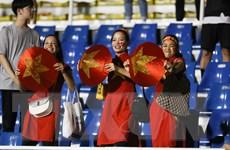 """""""Sốt"""" tour cổ vũ đội tuyển bóng đá nam tại SEA Games 30"""