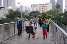 Thành phố Hà Nội chuẩn bị xây 10 cầu vượt cho người đi bộ