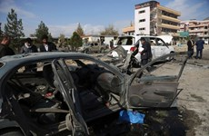 Nổ bom gần căn cứ quân sự chính của Mỹ ở Afghanistan