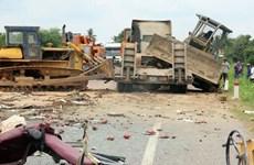 Gây tai nạn làm 4 người thương vong vì chạy xe ủi đi mừng U22 Việt Nam