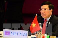Phó Thủ tướng Phạm Bình Minh dự Hội nghị Bộ trưởng Ngoại giao ASEM