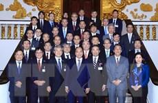 Thủ tướng Nguyễn Xuân Phúc tiếp Đoàn Ủy ban Kinh tế Nhật-Việt