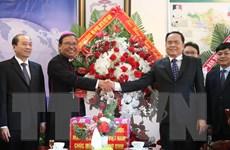 Chủ tịch Mặt trận Tổ quốc Việt Nam chúc mừng Giáng sinh tại Đắk Lắk