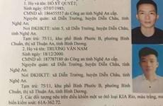 Bình Dương: Truy tìm 2 đối tượng trong vụ án mạng ở Thuận An