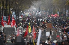 Bất chấp biểu tình lan rộng, Chính phủ Pháp quyết tâm cải cách hưu trí