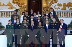 Thủ tướng tiếp lãnh đạo Bộ Quốc phòng, quân đội các nước