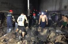 Bình Phước: Dập tắt đám cháy trong xưởng chế biến hạt điều