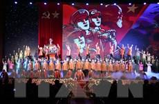 Hình ảnh lễ kỷ niệm 75 năm Ngày thành lập Quân đội Nhân dân Việt Nam