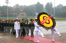 Quân ủy Trung ương, Bộ Quốc phòng vào Lăng viếng Chủ tịch Hồ Chí Minh