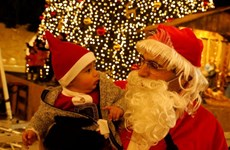 Rộn ràng không khí đón Giáng sinh tại nơi Chúa Jesus ra đời