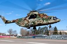 Nga bắt đầu thử nghiệm máy bay trực thăng hạng nặng Mi-26T2V