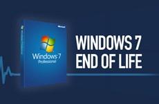 """Microsoft sẽ chính thức """"khai tử"""" Windows 7 từ ngày 14/1/2020"""