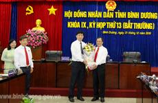 Ông Nguyễn Thanh Trúc được bầu giữ chức Phó Chủ tịch tỉnh Bình Dương