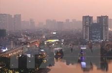 Đêm cuối năm 2019, Hà Nội vẫn ô nhiễm bụi ở ngưỡng nguy hại