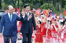 Không ngừng phát triển mối quan hệ hữu nghị vĩ đại Việt Nam-Lào