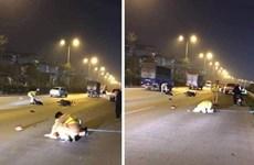 Hà Nội: Xác định danh tính đối tượng đâm xe vào Cảnh sát giao thông